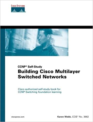 Building Cisco Multilayer Switched Networks: Karen Webb
