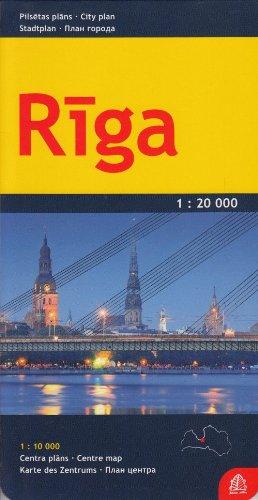 Ryga mapa 1:20 000 (City Plans S.)