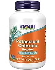 Now Foods Potassium Chloride Powder, 227g