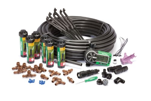 Lawn Sprinkler Systems (Rain Bird 32ETI Easy to Install In-Ground Automatic Sprinkler System Kit)