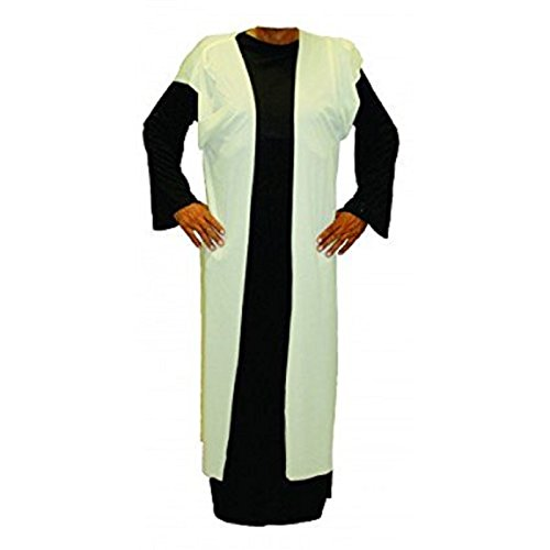 Alexanders Costumes Story of Christ Biblical Over Robe Child Costume, Natural, Large Shepherd Costume For Girls