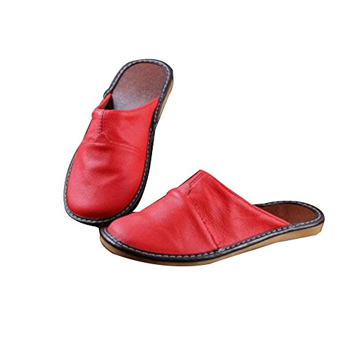 TELLW Chaussons femme TELLW femme red red pour pour Chaussons TELLW Chaussons wUqO7H