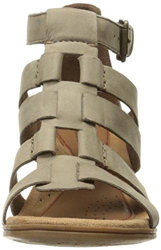 Rockport Womens Hattie Gladiator Sandal Khaki n9g1bF5