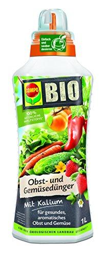 Compo 2224812004 Bio Obst und Gemüsedünger, 1 L