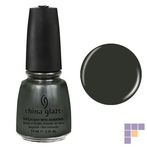 China Glaze Nail Polish, Near Dark