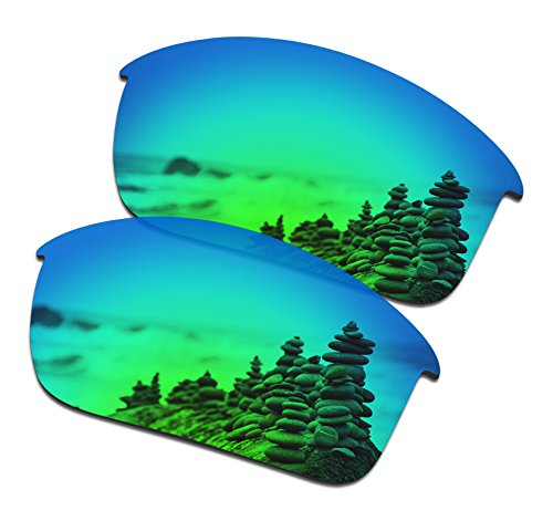 SmartVLT Men's Emerald Green Replacement Lenses for Oakley Bottle Rocket Sunglass