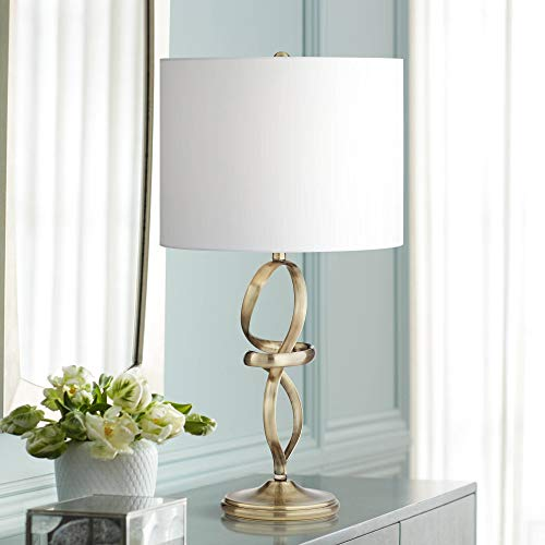 Miro Brass Finish Modern Abstract Table Lamp - 360 - Lamp Abstract Table