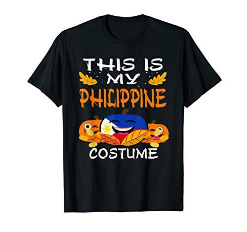 Halloween Costumes Philippines (Philippines Flag Halloween T-Shirt Philippine)