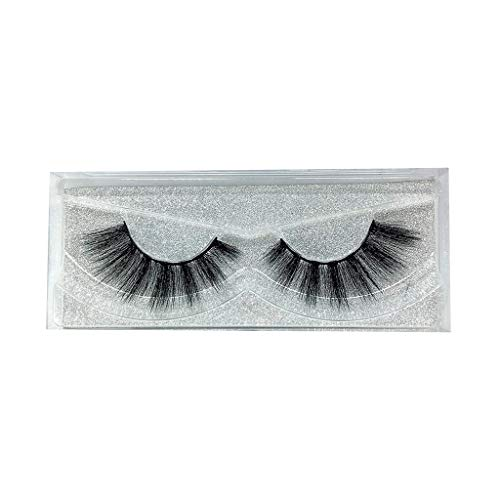 Wenini False Eyelashes, 2019 New Luxury 1 Pairs Ripple False Lashes Fluffy Strip Eyelashes Long Natural Party Makeup Lashes & Diamond Packaging