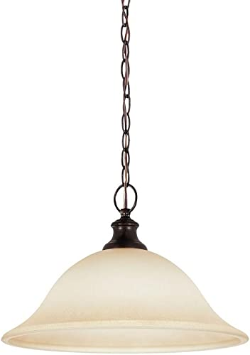 Seagull 65496-710 One 65496-710-One Light Pendant