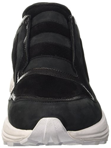 BIKKEMBERGS Herren Trail-Er 302 Low Shoe M Leather/Suede Pumps Schwarz