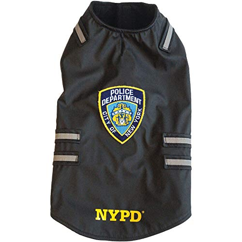 Royal Animals NYPD Dog Vest with Reflective Stripes (Small)]()