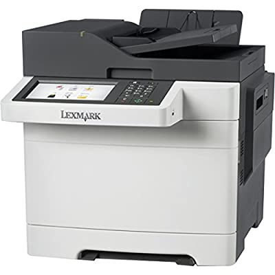 Lexmark CX510DHE Laser Multifunction Printer - Color - Plain Paper Print - Desktop - Copier/Fax/Printer/Scanner - 32 ppm Mono/32 ppm Color Print - 1200 x 1200 dpi Print - 32 cpm Mono/32 cpm Color Copy - Touchscreen - 1200 dpi Optical Scan - Automatic Dupl