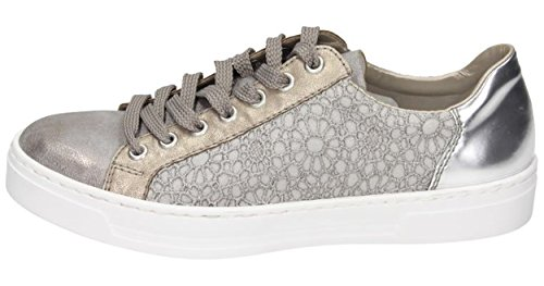 Woman Space Rieker Sneaker Grey Grey zORZSqw