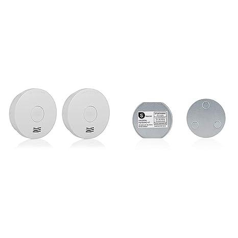 FSM-124 Smartwares 10-Jahres-Rauchwarnmelder mit VDs//Q-Label Wei/ß