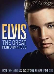 Amazon.com: Elvis Presley: The Great Performances [DVD ...