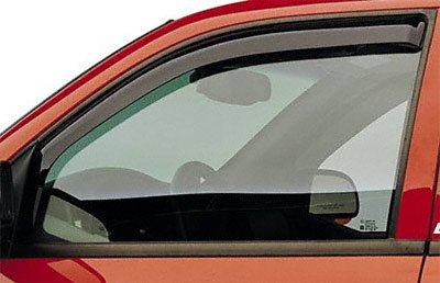 EGR 561521 WindowVisor Dark Smoke 2-Piece In-Channel Tapeless Window Visors