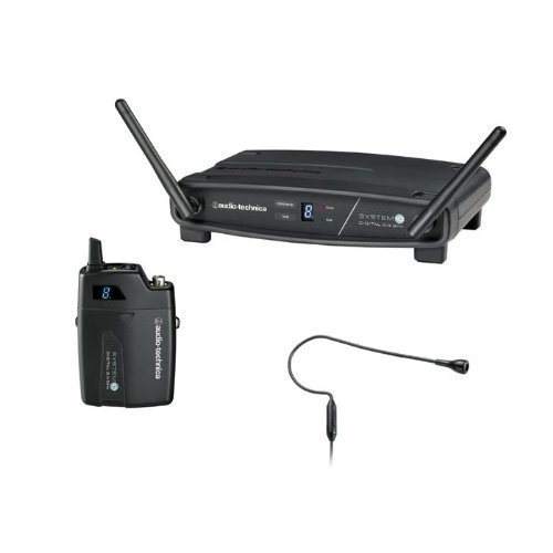 Audio-Technica System 10 ATW-1101/H92 Wireless Headworn Microphone System (Microphone Headworn Diversity Wireless)