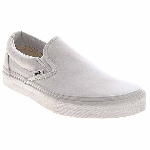 on mode adulte Classic U White Slip Sole Blanc Vans Baskets White mixte Shoe xUSnqw