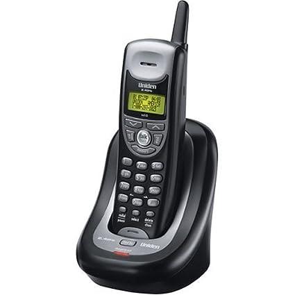 amazon com uniden exi4246c 2 4 ghz analog cordless phone with rh amazon com Uniden Cordless Phone Manual uniden 2.4 ghz digital phone manual