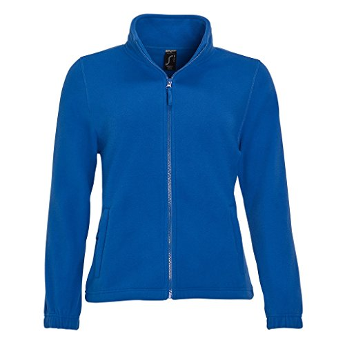 Sols Donna Reale In Blu Felpa Pile Con Zip rqAC8rpxw
