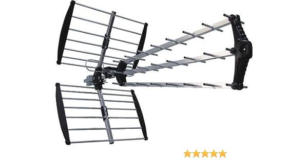 Stellar Labs 30-2155 UHF Antena Exterior Compatible con HDTV y DTV