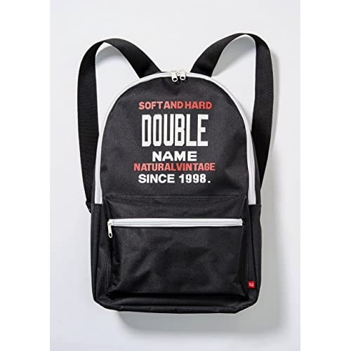 DOUBLE NAME BACKPACK BOOK 画像 B