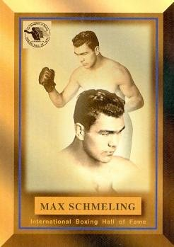bd461c7db1f Amazon.com  Max Schmeling card (Boxing) 1996 Ringside Hall of Fame ...