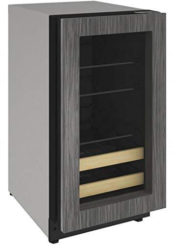 U-Line U2218BEVINT00A 2000 Series 18 Inch 3.4 cu. ft. Capacity Built In Compact Beverage Center with Reversible Door,