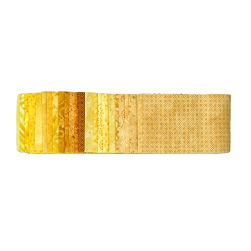 Wilmington Prints Essential Gems Sunny Side Up 2.5in Strips,