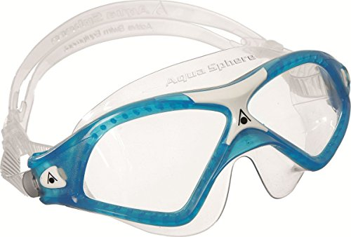 Aqua Sphere Seal XP Swim Mask, Clear Lens, Trans Aqua