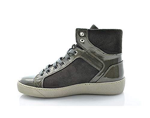 scamosciata Donna Fumo 40p2 Sneakers Grigio pelle Frau Fashion Uxq17wRqOg