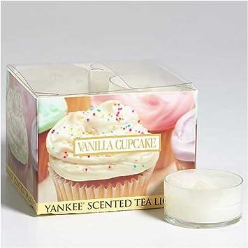 Vanilla Cupcake Teelichter Yankee Candle