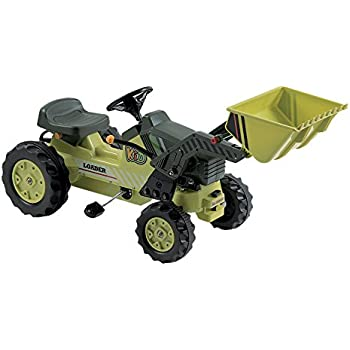 Dexton Pedal Tractor with Loader, Green