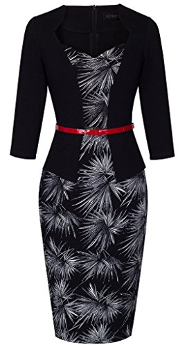 HOMEYEE Womens Formal Business Cocktail