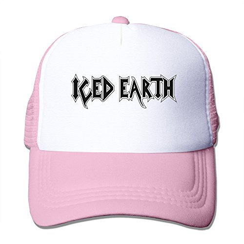 (Cheap Iced Earth Band Dracula Anthem Damien Baseball Hat Pink)