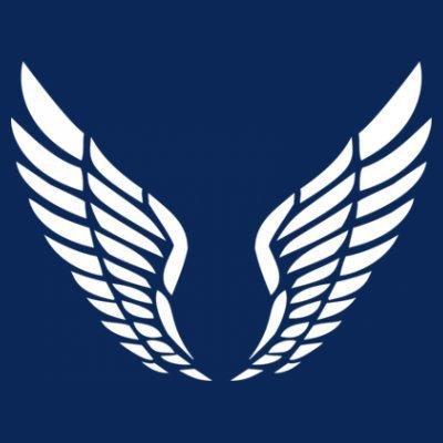 Sudadera con capucha de mujer Fairy Wings Tribal by Shirtcity Azul marino