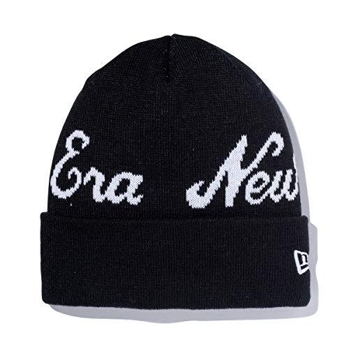 (ニューエラ) NEW ERA ニット帽 カフ BILLBOARD BASIC ブラック/ホワイト FREE