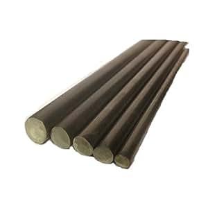 Barra acero inoxidable de 20 mm dimetro T316 - 300 mm longitud tama¤o redonda: 1