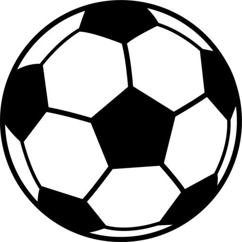 Soccer Ball Car Decal Sticker Vinyl removable sports teams kick goal!! (23'' inch) by Stickers Like