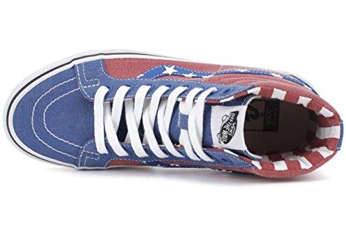 Vans Unisex Adulto Sk8-hi Récepue Van Doren Fashion Sneakers A Righe, 6.5