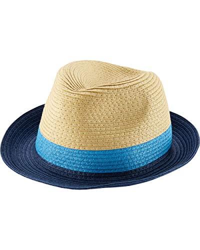 (Carter's Boys UPF Bucket Hat (Fedora Blue (Non-Reversible), 4-8))