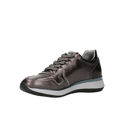 Giardini Scarpe 6580 Nero Donna A806580d Sneakers Piombo 8qUwgd1n