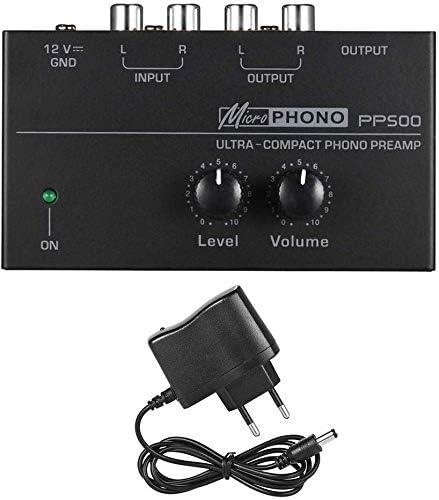 PP500 Ultra Compacto Phono Preamp Audio Preamplificador de, Phono ...