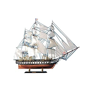 USS Constitution Limited Tall Model Ship 20  - Model Ship - Nautical Home Decor