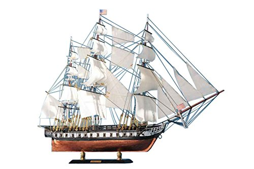 """USS Constitution Limited Tall Model Ship 20"""" - Model Ship - Nautical Home Decor from Handcrafted Nautical Decor"""