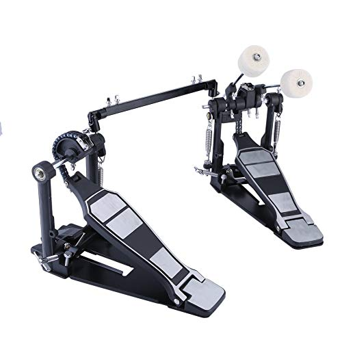 Double Foot Kick Drum Pedal Adjustable From 20