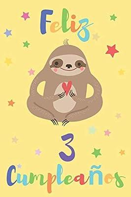 Feliz 3 Cumpleaños: Regalo para Niños o Niñas de 3 Años ...