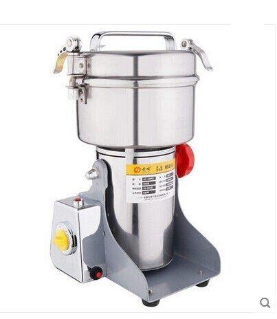 500g Electric Grain Mill Cereal Spice Grinder for Herb Pulverizer superfine Powder Machine 110V