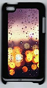 iPod 4Case Colorful rainy day PC Custom iPod 4Case Cover Black
